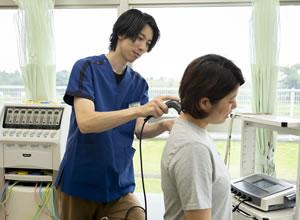 首へ電気治療