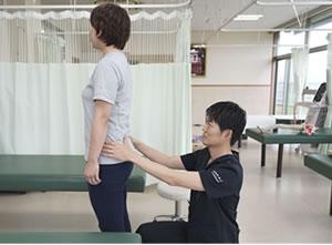 腰や骨盤・骨格の検査